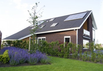 Nieuwbouw woonhuis Wergea