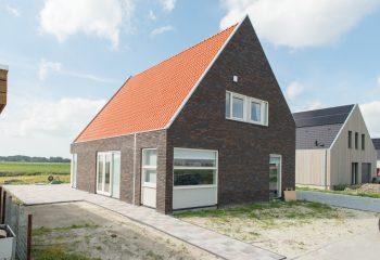 Nieuwbouw woonhuis Wiarda